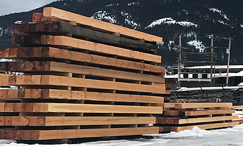 Montana Rough Cut Lumber and Timber Beams