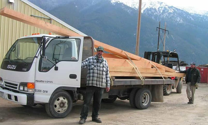 RBM Lumber - Columbia Falls Wood Beam Sizes